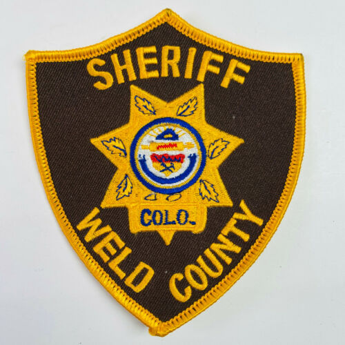 Weld County Sheriff Colorado CO Patch