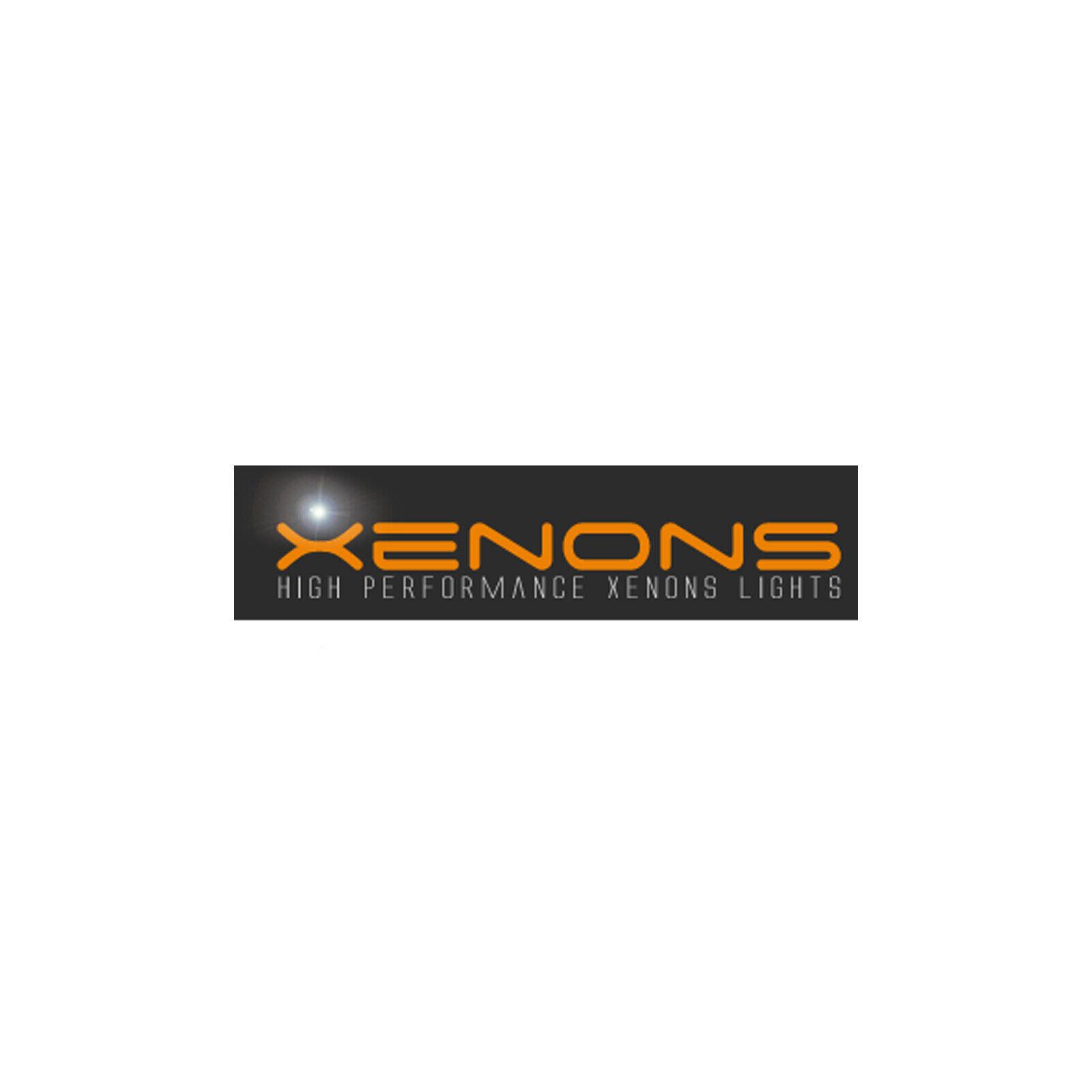 H3 100w Clear Standard Halogen Xenon HID Front Fog Lamp Light Bulbs Pair
