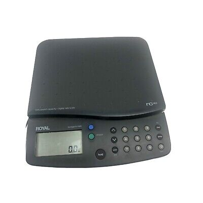 Royal 40 Pound Capacity Digital Rate Scale Rc40 Used Works Great Accurate