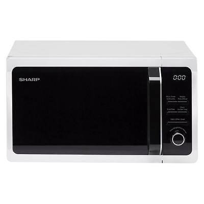 Sharp R664WM Microwave Oven with Grill 20 Litre Capacity and 800W Power