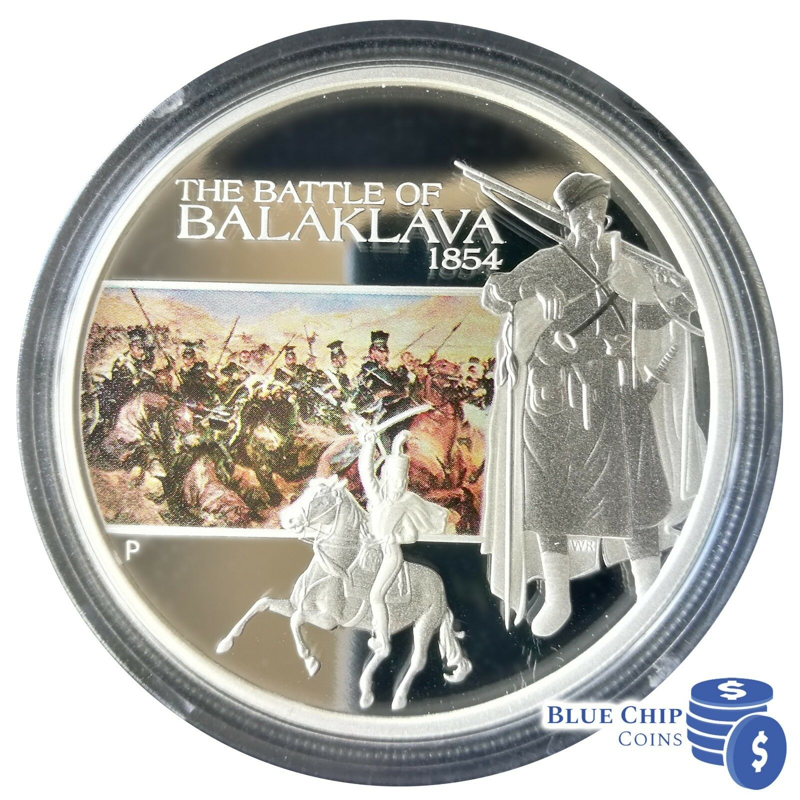 2009 $1 THERMOPYLAE FAMOUS BATTLES IN HISTORY 1oz SILVER PROOF COIN