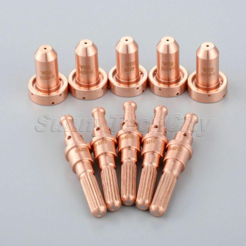 10鑴 Plasma Cutting Torch Kit for T/D SL 60/100 Electrodes 9-8215 Nozzles 9-8210
