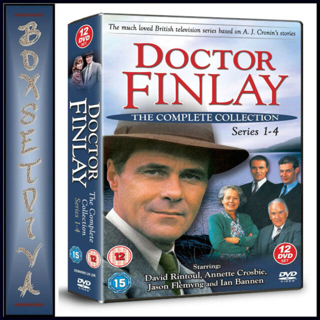 DR FINLAY - COMPLETE COLLECTION SEASONS 1 2 3 & 4  *BRAND NEW DVD BOXSET***