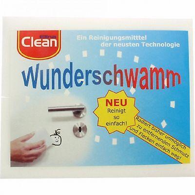 2 x Wunderschwamm Radierschwamm Schmutzradierer Putzschwamm Schwamm