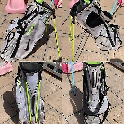 Limited Edition Nike Sport Lite White Camo/Volt Stand/Carry Bag