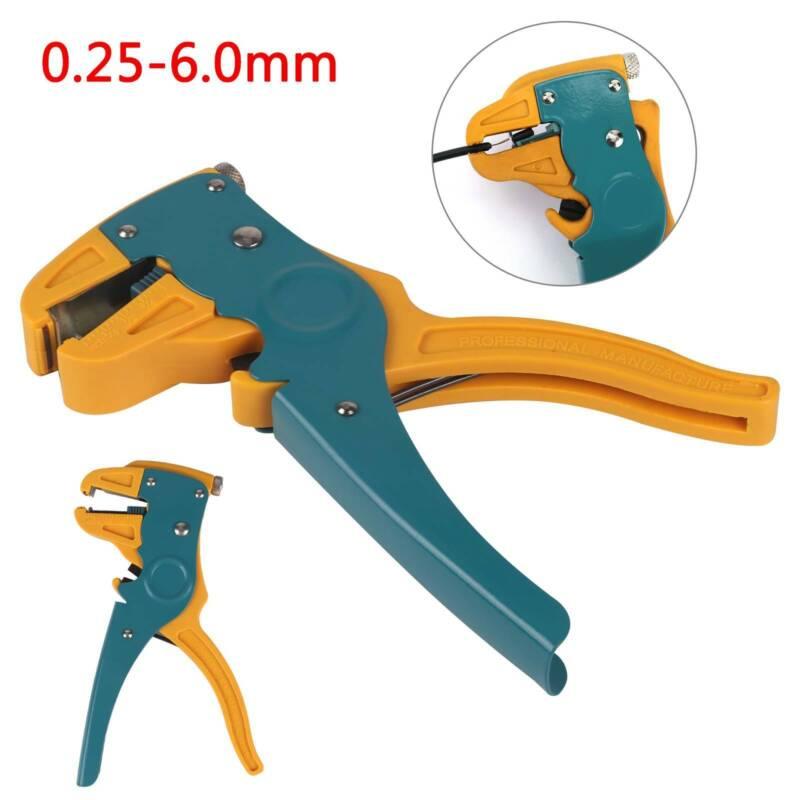 Automatik-Abisolierzange mit Kabelschneider, Kabelcutter, Abisolierhilfe 0,5-6mm