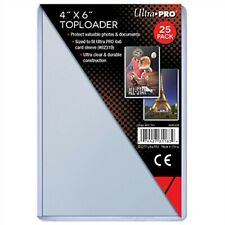 "Ultra Pro TopLoader, 4"" x 6"" Inch, For Photo Cards and Collectibles, 25 Pack"