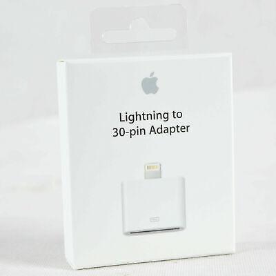 Original Apple Lightning A 30-pin 30-polig Adaptador Md823zm/A IPHONE Ipod