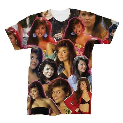 Kelly Kapowski Saved By The Bell Photo Collage T-Shirt - Kelly Saved By The Bell
