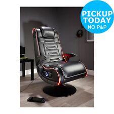 X Rocker New Evo Pro Gaming Chair LED Edge Lighting Optical USB 12+ Years