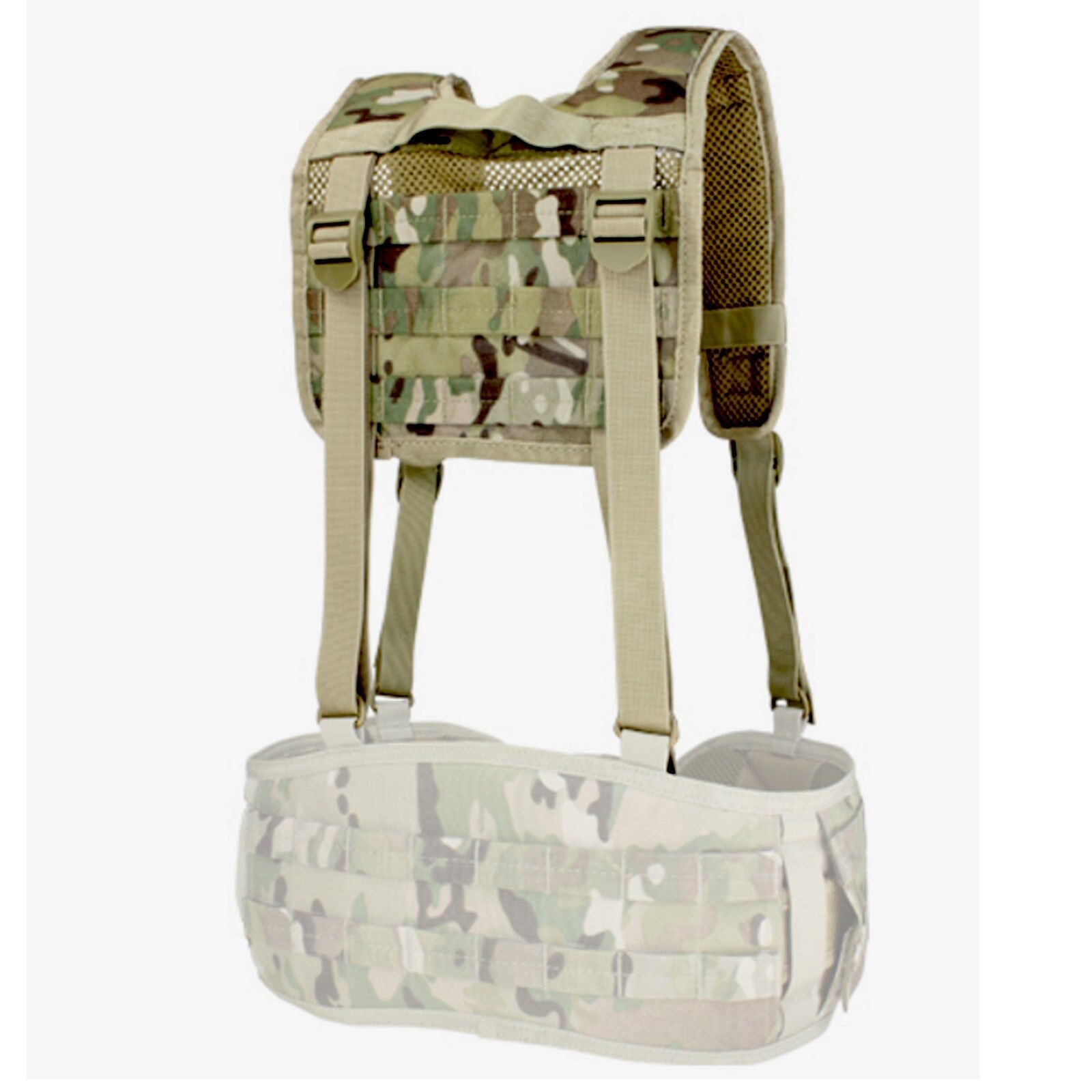 Condor 215 Military Tactical H-Harness Shoulder Battle Belt ...