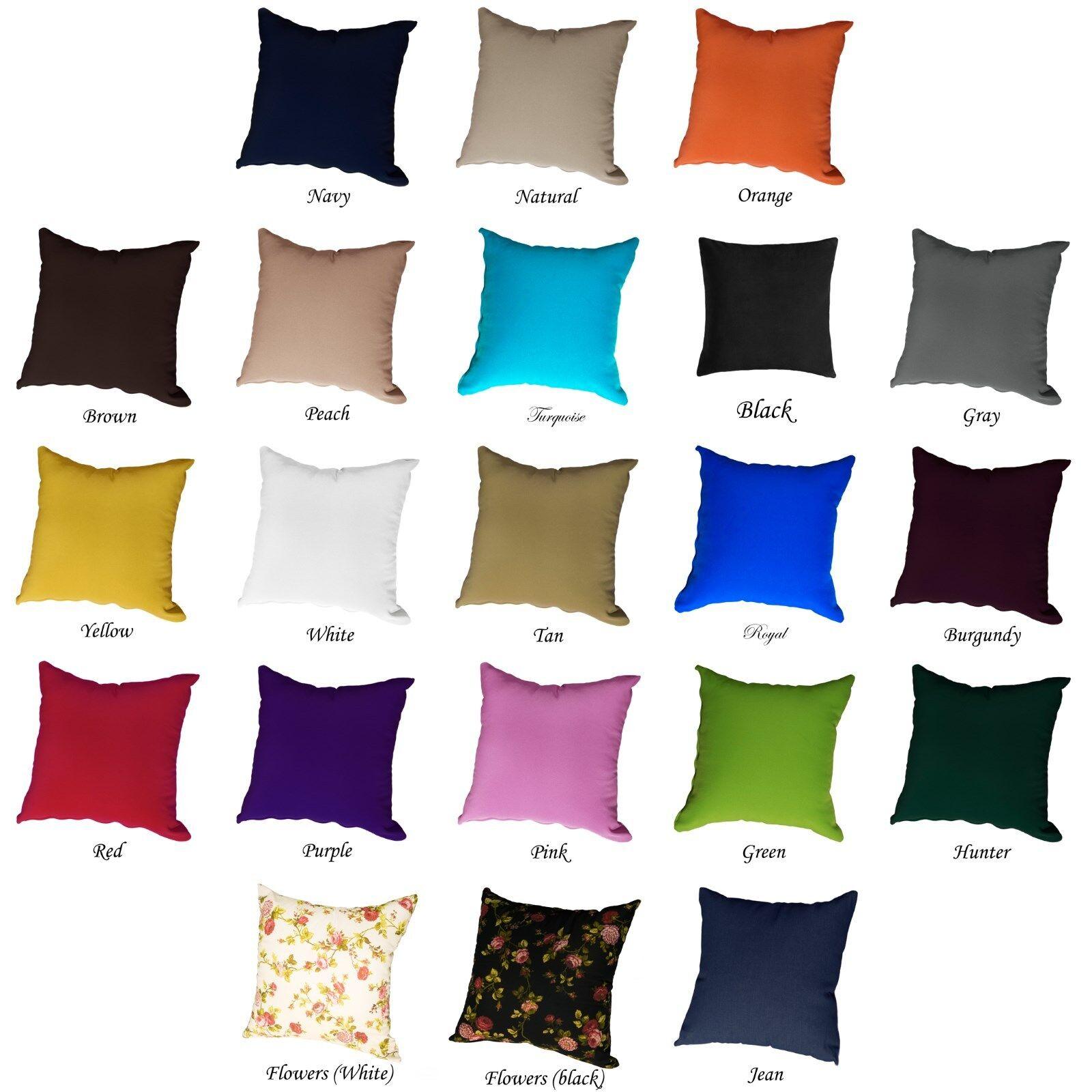 Fashion Cushion Cover Pillow Case Home Sofa Decor size 12 18