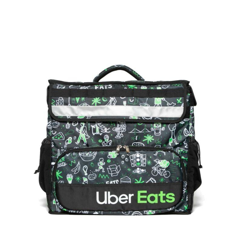 UBER EATS LIMITED EDITION (Sophia) Insulated Bag Postmates DoorDash Grubhub