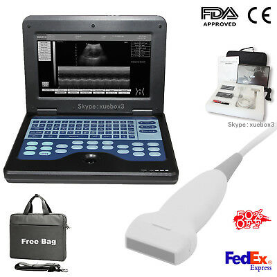 Fdace Contec Portable Ultrasound Scanner Laptop Machine7.5mhz Linear Probenew