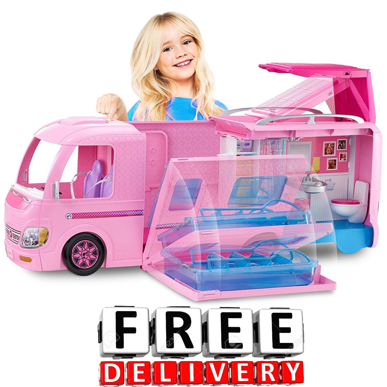 Barbie Camper House Car Vehicle Furniture Accessories Dream
