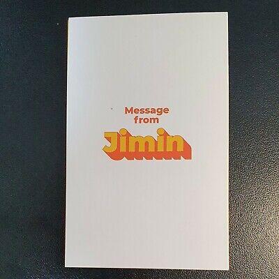 Rm - Official Folded Message Card BTS Butter Kpop