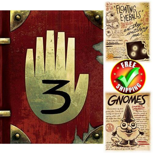 Gravity Falls: Journal 3 edition by Dipper and Mabel Hardcover New