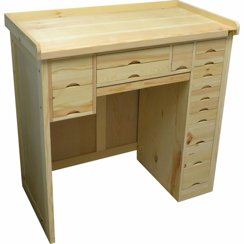 Classic Watchmakers Workbench - Bench for Watch Repair Work Jewelry Store