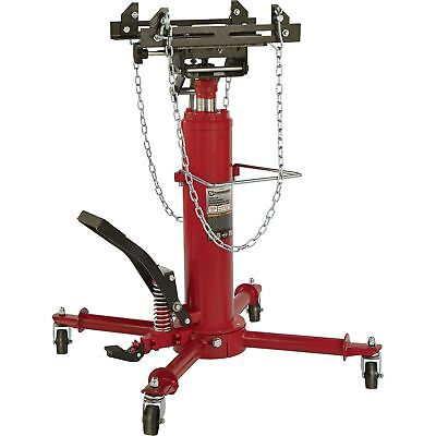 Strongway 2-Stage Telescoping Transmission Jack - 1/2 Ton Capacity