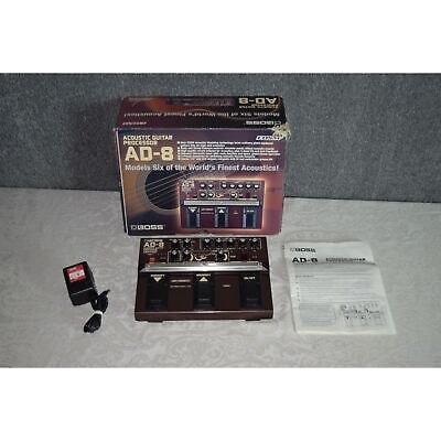 Boss AD-8 Acoustic Guitar Processor Modeling Multi-Effects Pedal--NICE! for sale  Shipping to India