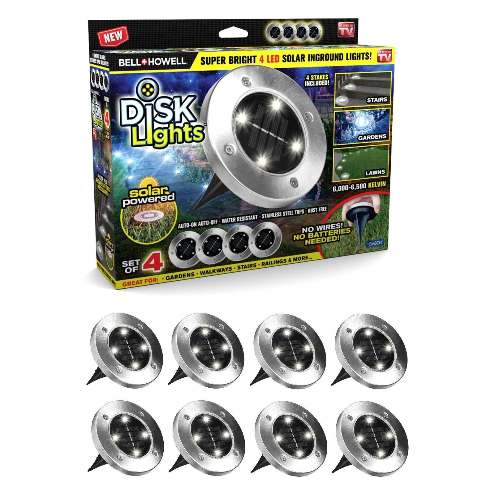 Bell Howell Disk Lights Solar Ed