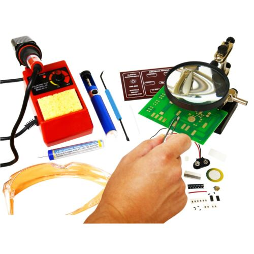 Elenco SK-300 Surface Mount Technology Soldering Program Ages 14+/ Experienced