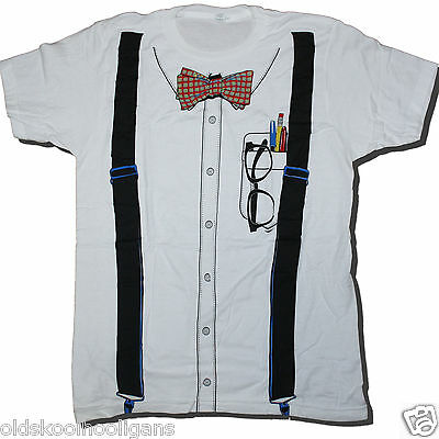 GEEK COSTUME T SHIRT US IMPORT HALLOWEEN / FANCY DRESS NERD CHIC THE - The Best Halloween Fancy Dress Costumes