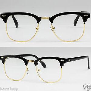 clubmaster gafas lentes transparentes moda fancy dress cuadros de prescription. Black Bedroom Furniture Sets. Home Design Ideas