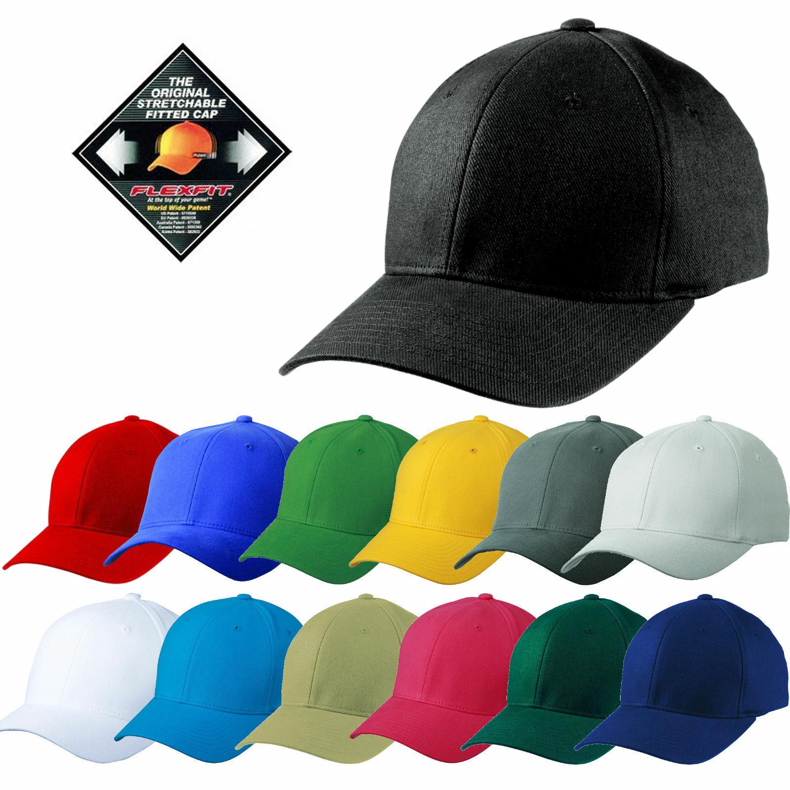 Flexfit Original Cap Flex Fit Basecap Baseball Caps Schirm Mütze Kappe Hut