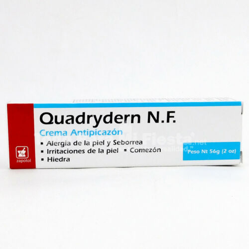 Quadrydern Cream Skin Allergies Cream Quadrydern NF Crema Quadrydern