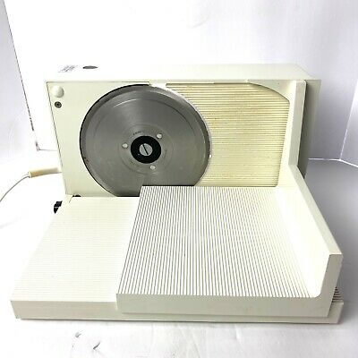 Krups Type 371 Fold Up Electric Lunch Meat Cheese Food Slicer Deli Style Tested