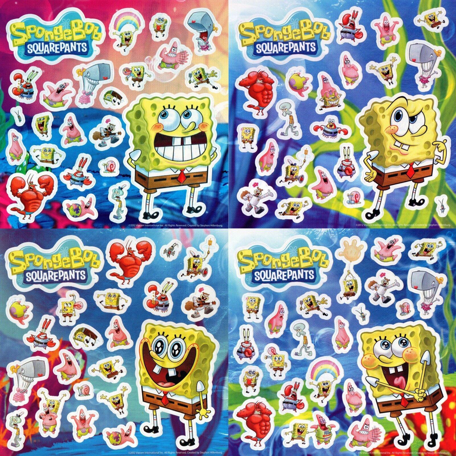 SpongeBob SquarePants 48pc Birthday Party Favor Goodie Fillers Mix Value Pack