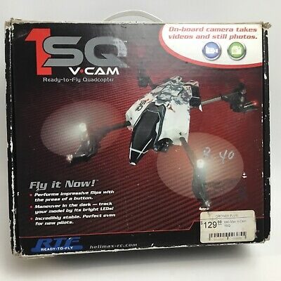 Heli-Max 1SQ V Cam Enthusiastic to Fly RTF Remote Control RC Quadcopter Drone  #0062