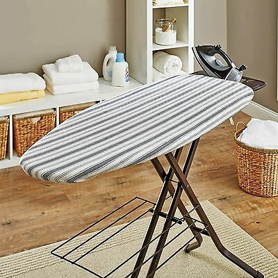 p5 Better Homes and Gardens Ironing Board Pad and Cover, Blue Stripes