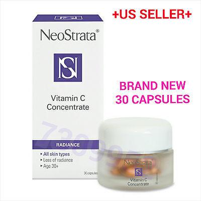 Neostrata Vitamin C (NeoStrata VITAMIN C CONCENTRATE 30 capsules Skin Radiance Best Brightening)