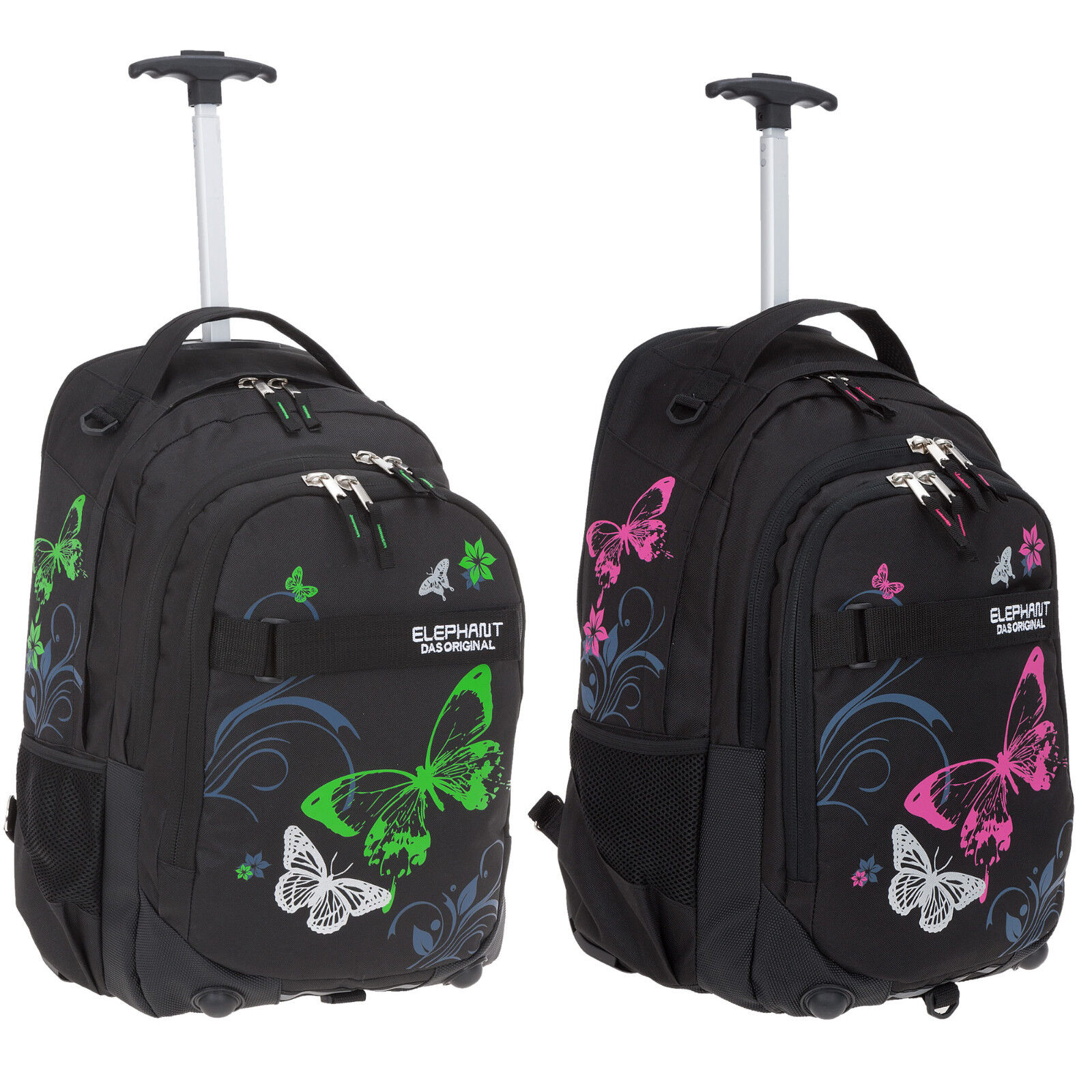 Trolley Elephant Hero Signature Schulrucksack Schultrolley 12680 Butterfly Wahl