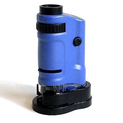 Mikroskop für Kinder Mini Microscope mit Licht und Funktion Pfiffikus NEU