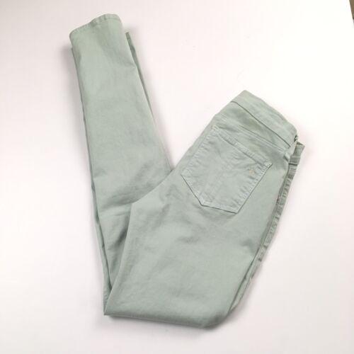 Rag & Bone PFD Mint Green Skinny Stretch Denim Jea