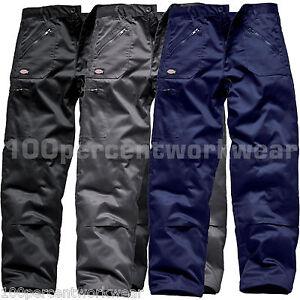 Pantalon-Travail-DICKIES-Combat-Cargo-Genouilleres-Poches