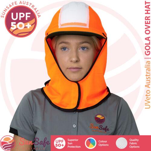 Gola Over Hat UVeto Australia Hard Hat Cover Sun Protection Helmet Sun Brim Flap