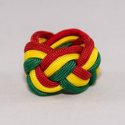- Webelos Neckerchief Slide Woggle Cub Boy Scout Turks Head Knot Paracord Handmade