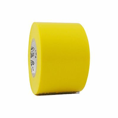 1 Roll Yellow Vinyl Pvc Electrical Tape 2 X 66 Flame Retardant Free Shipping