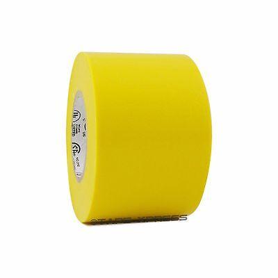 1 Roll Yellow Vinyl Pvc Electrical Tape 2 X 66 Flame Retardant Free Shipping