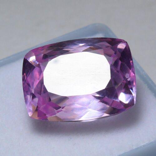 Natural 17.35 Ct Certified Unheated Brazil Pink Kunzite Loose Gemstones 16x12 mm