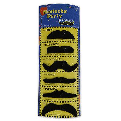 Kostüm Karneval Schnurrbart ankleben falscher Bart Verkleidung - Falschen Schnurrbart Kostüm