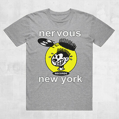 Nervous Records New York vintage style T-Shirt - House Music fashion