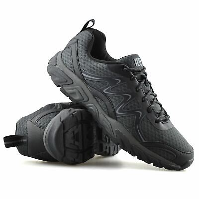Mens New Casual Lace Up Non Slip Running Walking Hiking Work Trainers Shoes