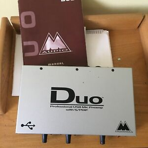 M-Audio Duo Mic Preamp