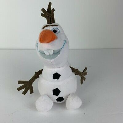 """Disney Frozen 2 6.5"""" Large Olaf Plush Officially Licensed Kids Stuffed Toy Used"""