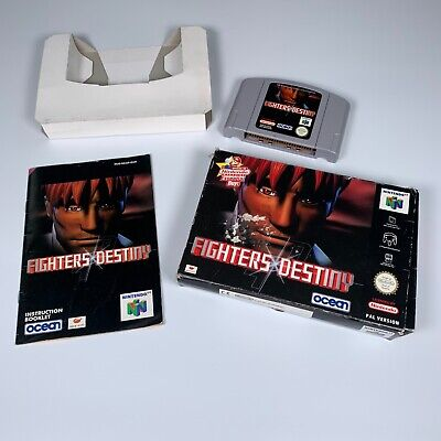 Fighters Destiny. N64 Nintendo 64 Game. Boxed.